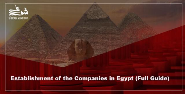 Establishment of the Companies in Egypt – Full Guide